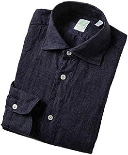 FINAMORE(フィナモレ) シャツ メンズ BALI リネンシャツ LUIGI-010608 [並行輸入品]