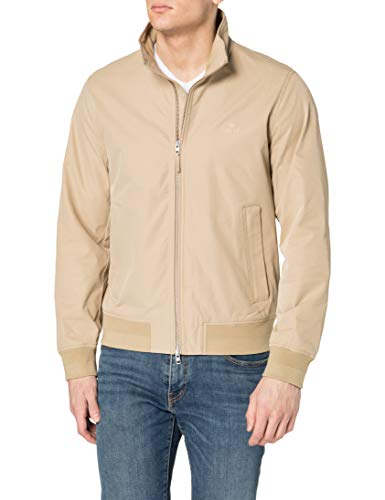 GANT Hampshire Jacket D1. Chaqueta Hamphire, caqui oscuro, XL para Hombre