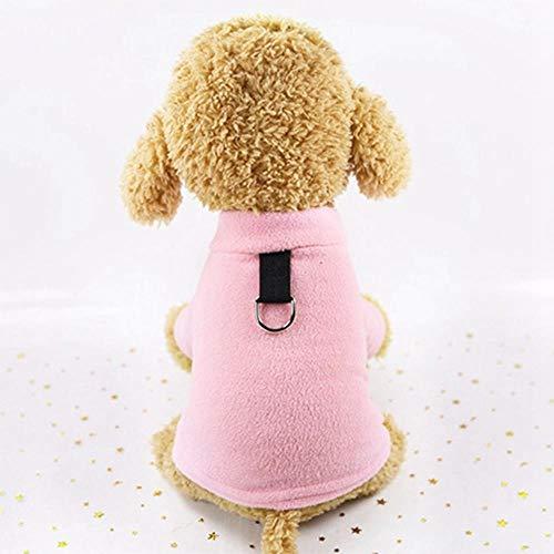 Bhu Warme Kleidung für Hunde und Katzen, für Herbst, einfarbig, Chihuahua,...