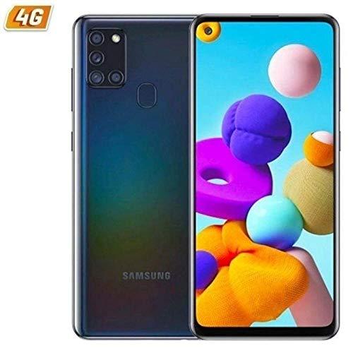 SAMSUNG Smartphone MÓVIL Galaxy A21S Black - 6.5'/16.5CM - CAM (48+8+2+2)/13MP - OC - 64GB - 4GB RAM - Android - 4G - Dual SIM -