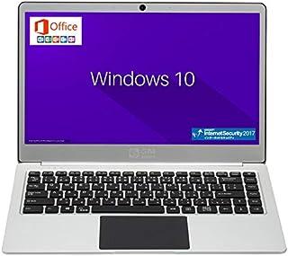 GLM 超軽量 薄型 PC ノートパソコン 日本語キーボート Microsoft Office 2019 / Windows 10 / Celeron / 14.1 インチ / SSD 256GB /メモリ8GB / WIFI / USB3.0 / HDMI / WEBカメラ / FullHD /日本語キーボート