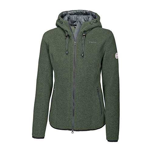 Pikeur Damen Outdoor Fleecejacke JASNA Classic Collection Herbst-Winter 2019/2020, Thyme, 36