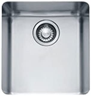 Franke KBX110-13 Kubus 15-Inch x 13-Inch Single Bowl Undermount Kitchen Sink