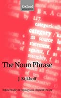 The Noun Phrase (Oxford Studies in Typology and Linguistic Theory)