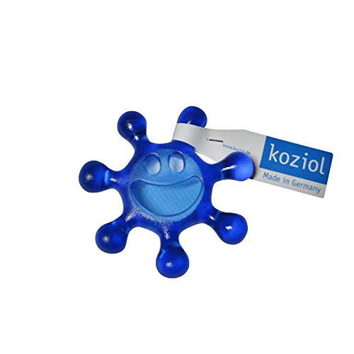 Koziol Sunny, transparent Blau Drehverschlussöffner, Kunststoff, Oliv, 71x71x15 cm