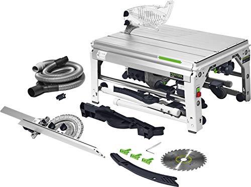 Festool Tischzugsäge CS 70 EBG PRECISIO Herstellernr. 574776, Schwarz/Grün