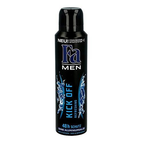 Fa Hommes Déodorant en Spray 48H Kick Éteint 150ml