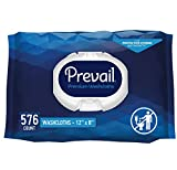 Prevail Soft Pack Adult Washcloths, 12'x 8', 576 Count