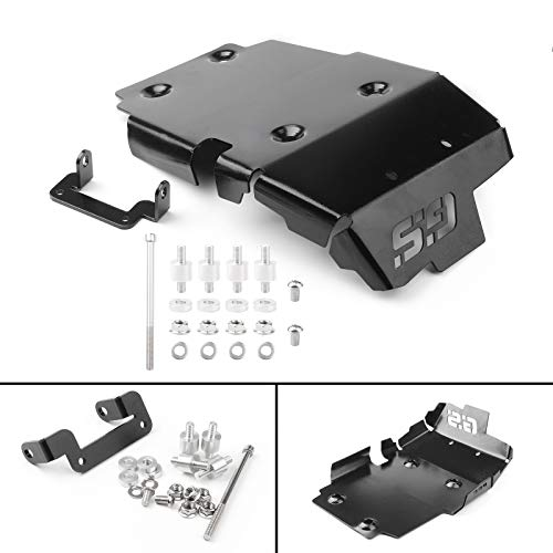 Artudatech Motorrad-Motor-Stator-Abdeckrahmen, Moto-Aluminium-Motorschutz, Schutzblech-Set für B M W F650GS,F700GS,F800GS