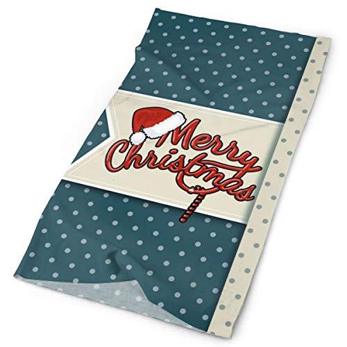 Pengyong Feliz Navidad Unisex Moda de secado rápido Tocado de microfibra bufanda mágica al aire libre cuello bufanda bufanda con capucha super suave mango