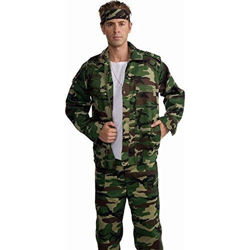 Forum Novelties Combat Hero Camouflage Costume Jacket Adult X-Large