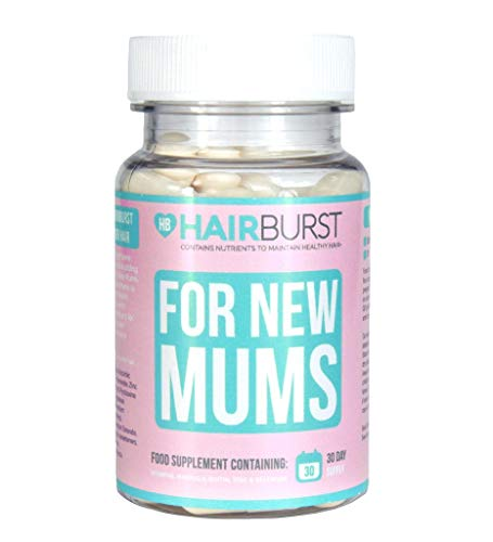 Hairburst Pregnancy Vitamins for Hair Growth - 1 Month Supply - 30 Capsules - Reduce Hair Loss - Faster Hair Growth - Contains Folic Acid 400 mcg