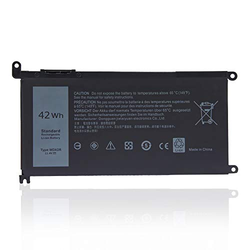 Oyomba WDX0R Battery for Dell Latitude 3480 3580 3189 3379,Inspiron15 5565 5567 5568 5578 5579 5368 5378 5379 5765 5767 5770,7560 7570 7573 7579 7580 7569 7368 7378 7460,vostro 5468 5568 3CRH3 T2JX4