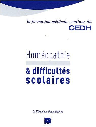 Homéopathie & difficultés scolaires