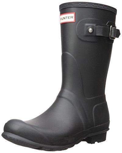 Hunter Original Short Black Womens Boots Size 5 UK 38 EU