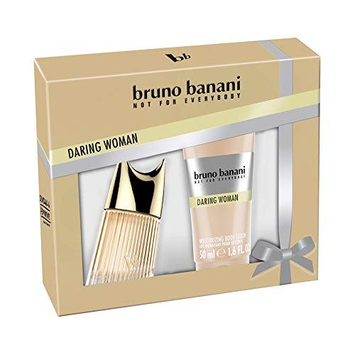 Bruno Banani Duftset Daring Woman Eau de Toilette 20ml + Body Lotion 50ml, 1er Pack (1 x 70 ml)