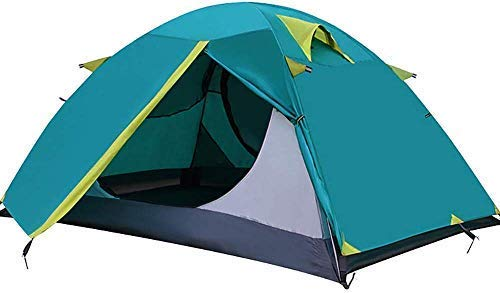 NDYD Camping Tent Beach Sun Shelter Tarra Impermeable para Deportes al Aire Libre Senderismo Travel Toopies DSB (Color : Cyan)