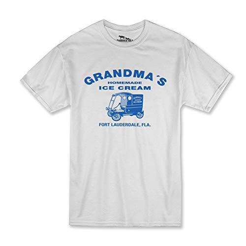 Terence Hill T-Shirt - Grandma's Ice Cream (Weiss) (L)