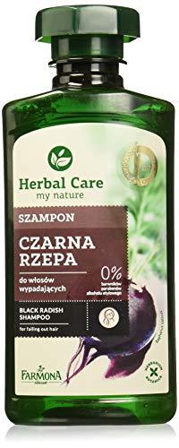 farmona Kräuter Pflege schwarz Rettich Haar Shampoo 330 ml