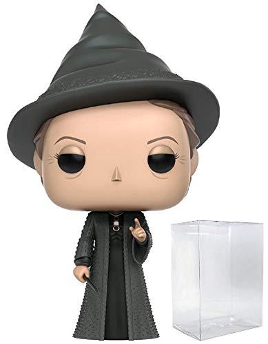 Funko Pop! Movies: Harry Potter - Professor Minerva McGonagall #37 Vinyl Figure (Bundled with Pop Box Protector Case)     image