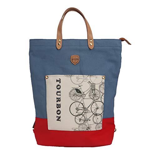 Damen Schultertasche Tote Bag Mode Fahrrad Gepäckträger Laptop Rucksack Fahrrad Heckträger Handtasche