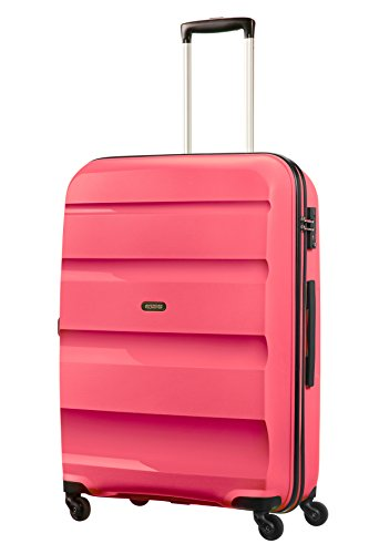 American Tourister - Bon Air - Spinner 75 cm, 91 L, Rosa (Fresh Pink)