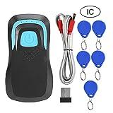 IC de seguridad Bluetooth Lector de tarjetas Bluetooth, lector de tarjetas, escáner Código de frecuencia Sistemas multimedia para control de acceso(black, IC)
