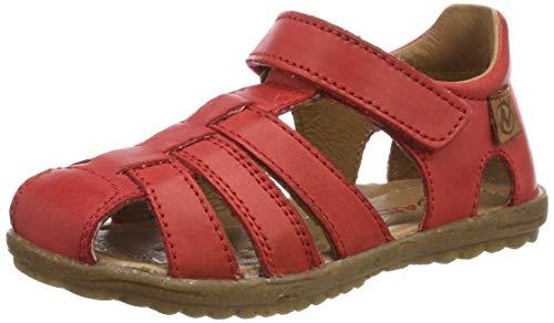 Naturino unisex barn se gladiatorsandaler, Red Rosso 0h05-4.5 UK Child