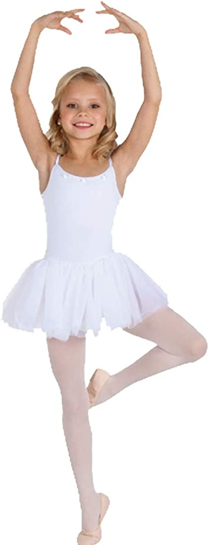 Max 90% OFF Body Wrappers Microfiber Camisole 4-6 White Tutu Leotard Many popular brands