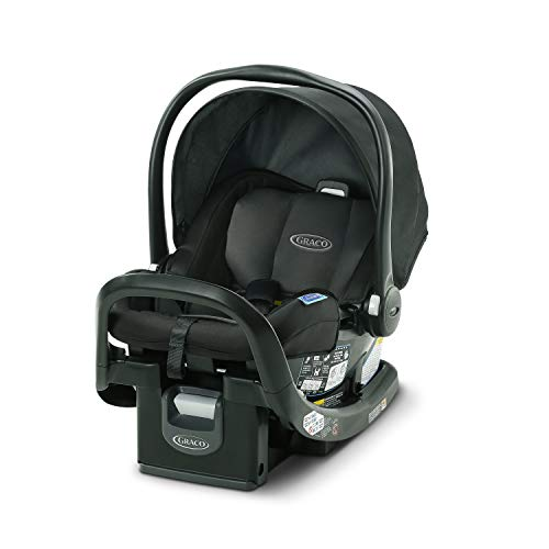 Graco SnugFit 35 Infant Car Seat | Baby Car Seat with Anti Rebound Bar, Gotham