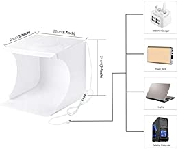 PULUZ 80 cm Lightbox Photo Studio Softbox White Light Photo Lighting Studio Tomas de Tiro Carpa Box Kits /& Photography Backdrop of Ballylelly