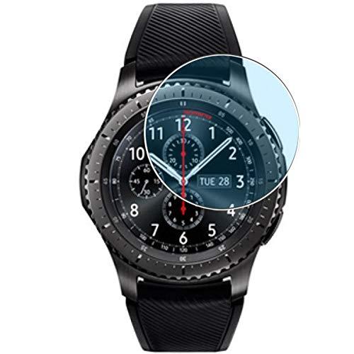 Vaxson - Pellicola protettiva anti-luce blu, compatibile con Samsung Gear S3 Frontier, 3 pezzi