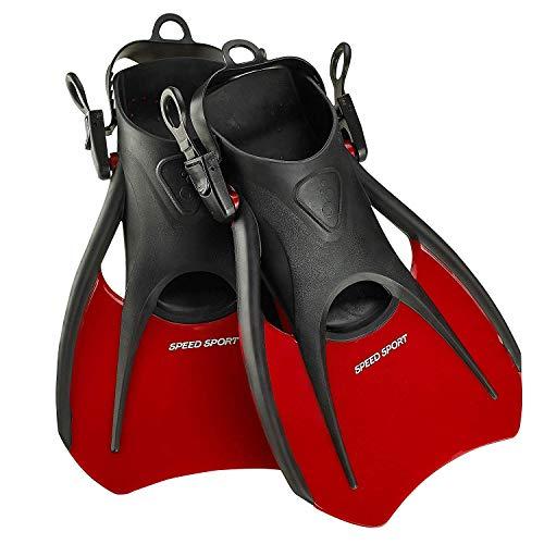 Phantom Aquatics Open Heel Sport Fin - RD-SM