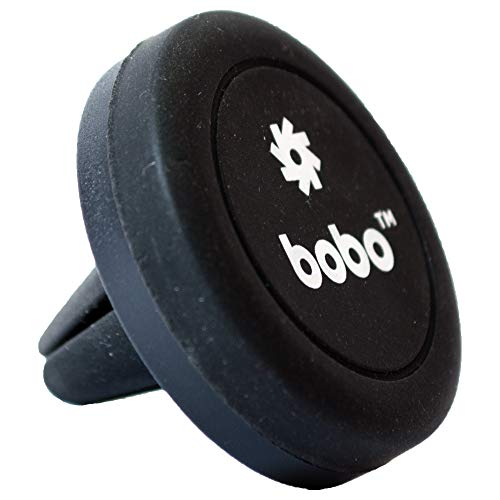 BOBO Claw-Grip Universal Magnetic Air Vent Mount Car Phone Holder, for Smartphones and Mini Tablets, Black