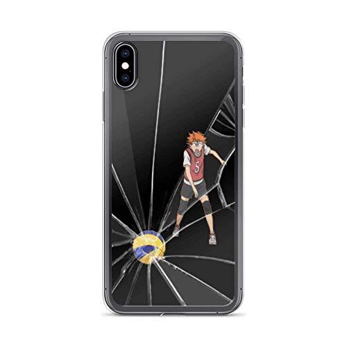 Roadiress Haikyuu Karasuno High Go Volleyball Japanese Anime Compatible con iPhone 12/12Pro MAX 12 Mini 11 Pro MAX XR XS/XsMax SE 2020 7 8 6/6s Plus Samsung Series Funda Protectora