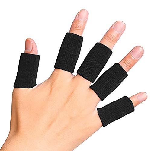 ZHUOTOP - 10 fundas para dedos de apoyo para el pulgar para...