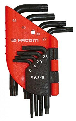 FACOM 89.JP6-Jeu de 6 Clés Mâles Torx