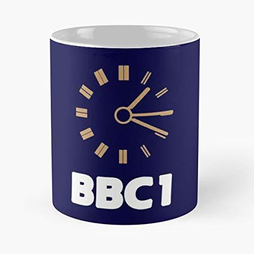 Bbc Test Card Clock Night Bestseller Mode Geschenk Kaffeetasse schwarz, weiß, Farbe ändern 11 Unzen, 15 Unzen für alle