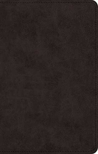 ESV UltraThin Bible (TruTone, Black)