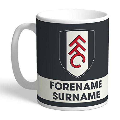 Official PERSONALISED Fulham FC Eat Sleep Drink Mug