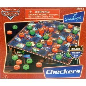 Disney Cars Checkers by Disney's Cars Cardinal Industries