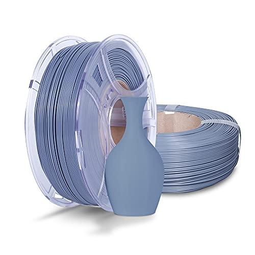 NOVA3D - Filamento per stampante PLA+, confezione da 2 kg, con bobina da 1,75 mm, per stampa 3D, precisione +/- 0,02 mm, grigio