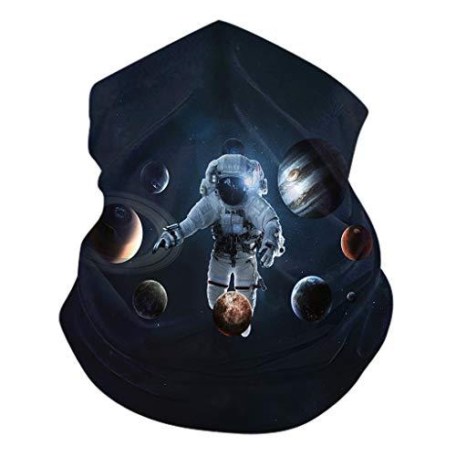 Xniral Magic Tube Bandana Kopfbedeckung Nahtloses Stirnband Hals Gamasche Gesicht Schal Bandana Multifunktionsschal Dünne Röhre Motorrad Radfahren Angeln Wandern(Z)