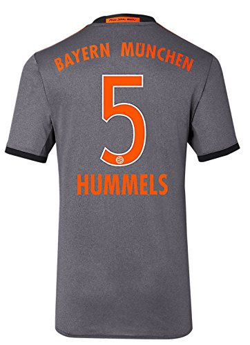 Trikot Adidas FC Bayern München 2016-2017 Away (Hummels 5, XXL)