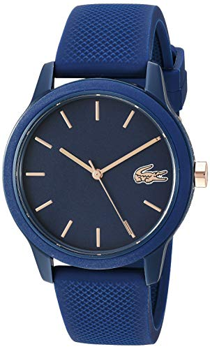 Lacoste TR90 2001067 – Reloj de cuarzo con correa de goma, color azul