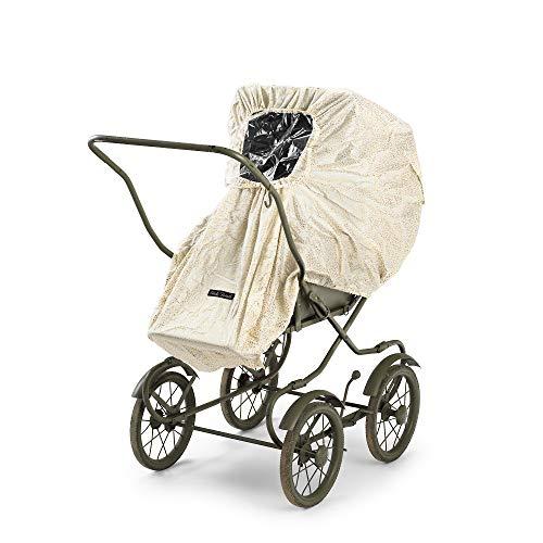 Elodie Details Universal Regenschutz für Kinderwagen/Buggy mit Sichtfenster - Gold Shimmer