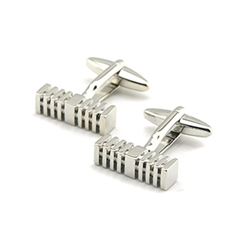 Zhhlinyuan accessoire pour homme 1 Pairs of Mens Gentleman Shirt Cufflinks Personality Design