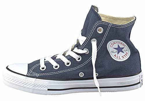 Converse All Star Hi Canvas, Scarpe da Ginnastica Unisex - Adulto, Blu (Navy Blue), 41 EU