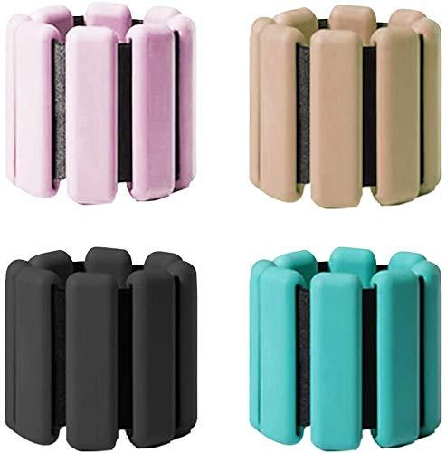 COMICA1 Einstellbare Fußmanschetten 2 Stück, Knöchel Gewichte Handgelenkbänder, Paar Beine Gewicht für Jogging-Jogging-Walking- Aerobic-Übung-Gymnastik-Fitness,Pink