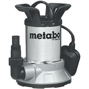 Metabo TPF 6600 SN – bomba sumergible para aguas limpias